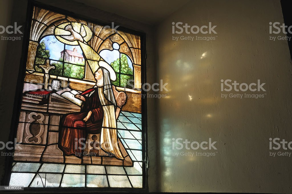 Saint Teresa of Avila stock photo