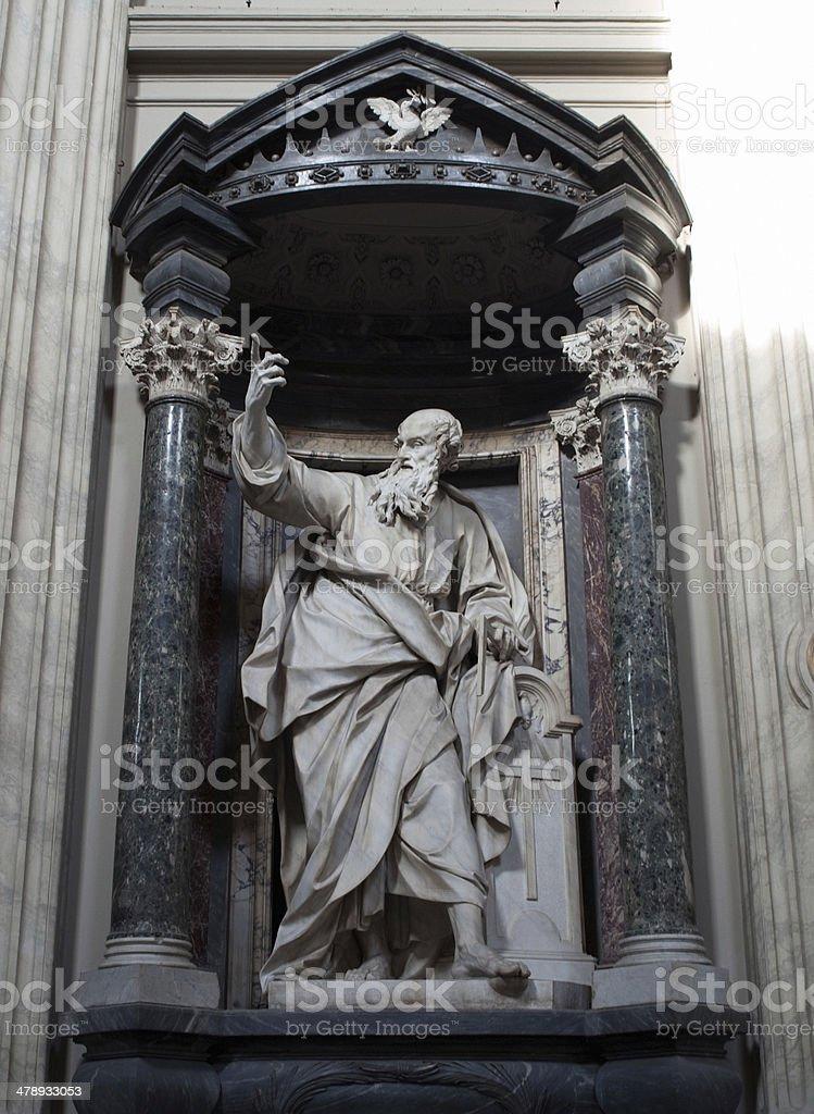 Saint Thomas Apostle stock photo