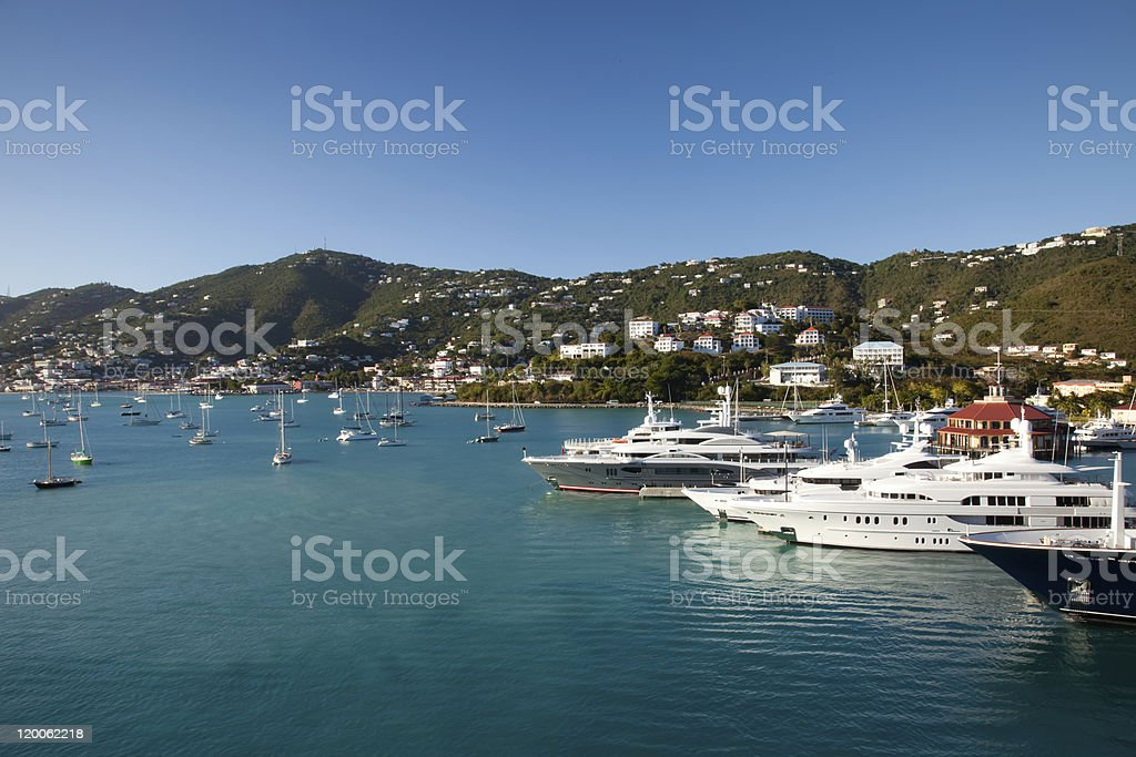 Saint Thomas Bay, Virgin Islands royalty-free stock photo