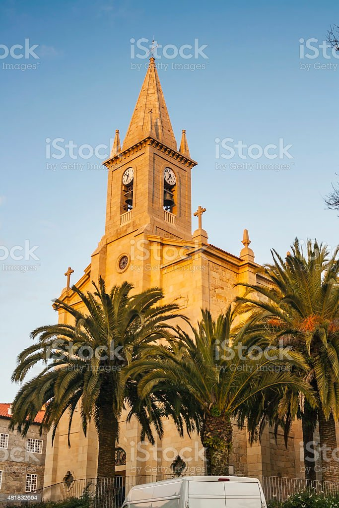 Saint Thomas church stock photo
