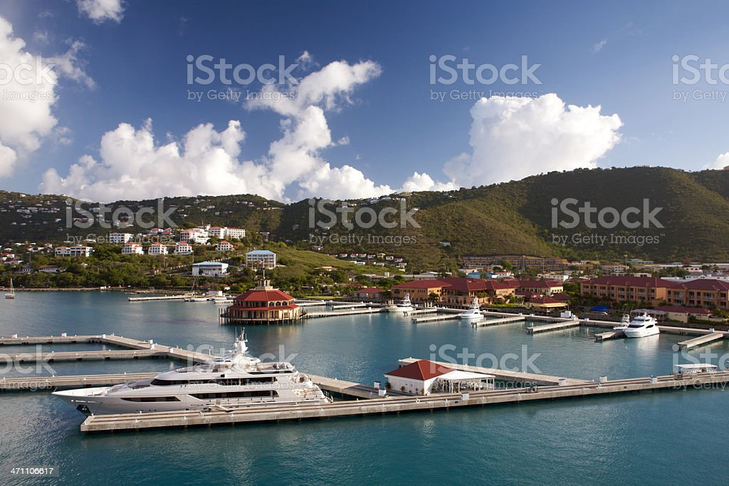Saint Thomas USVI - Long Bay royalty-free stock photo