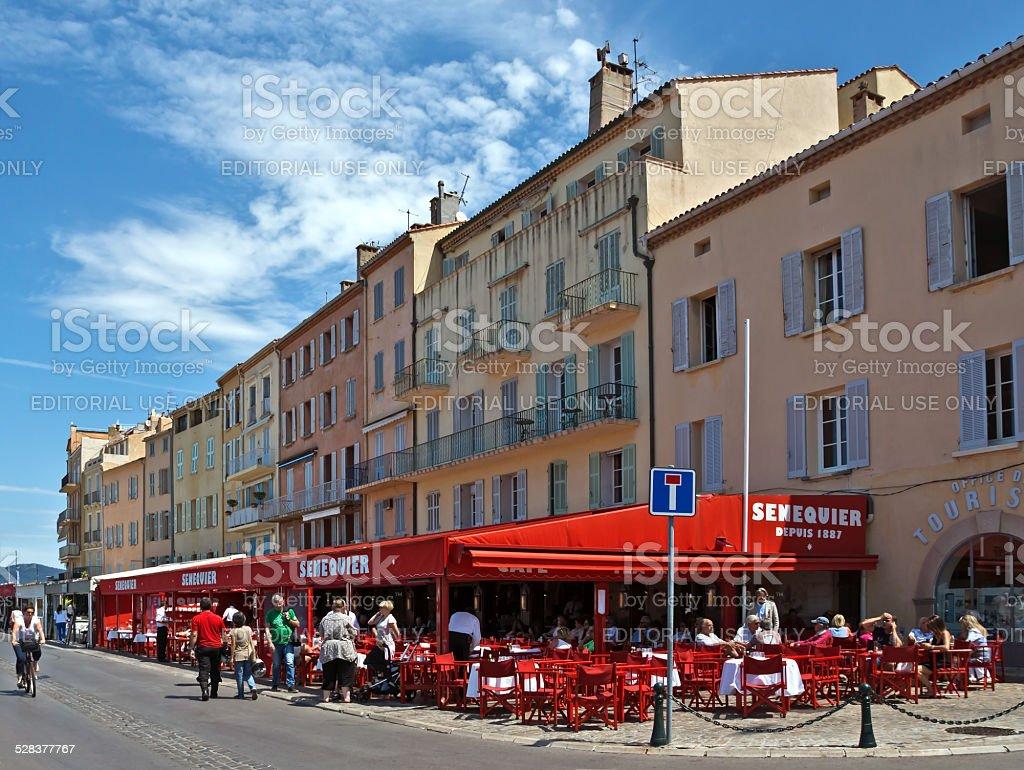 Saint Tropez - Architecture of city stock photo