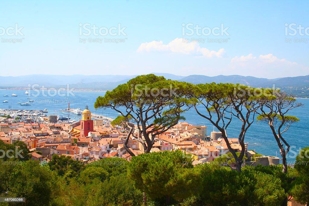 Saint Tropez, France stock photo