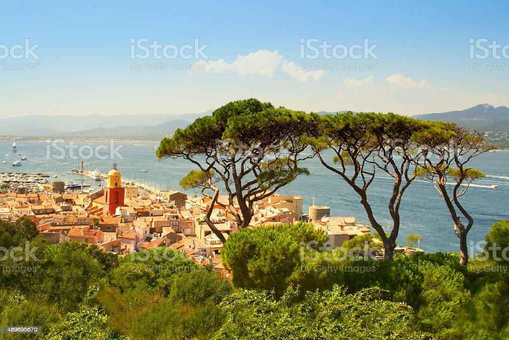 Saint Tropez, Southern France stock photo