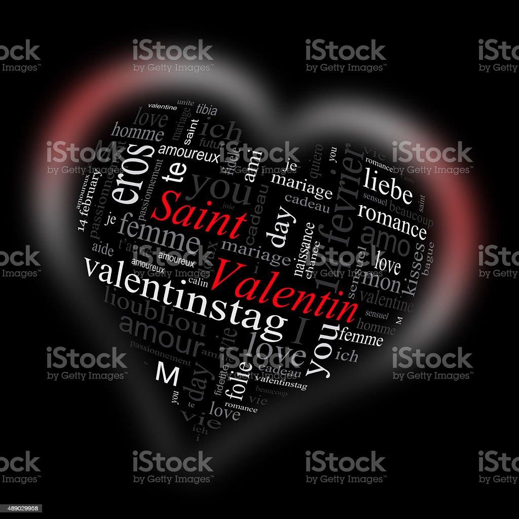 Saint Valentin royalty-free stock photo
