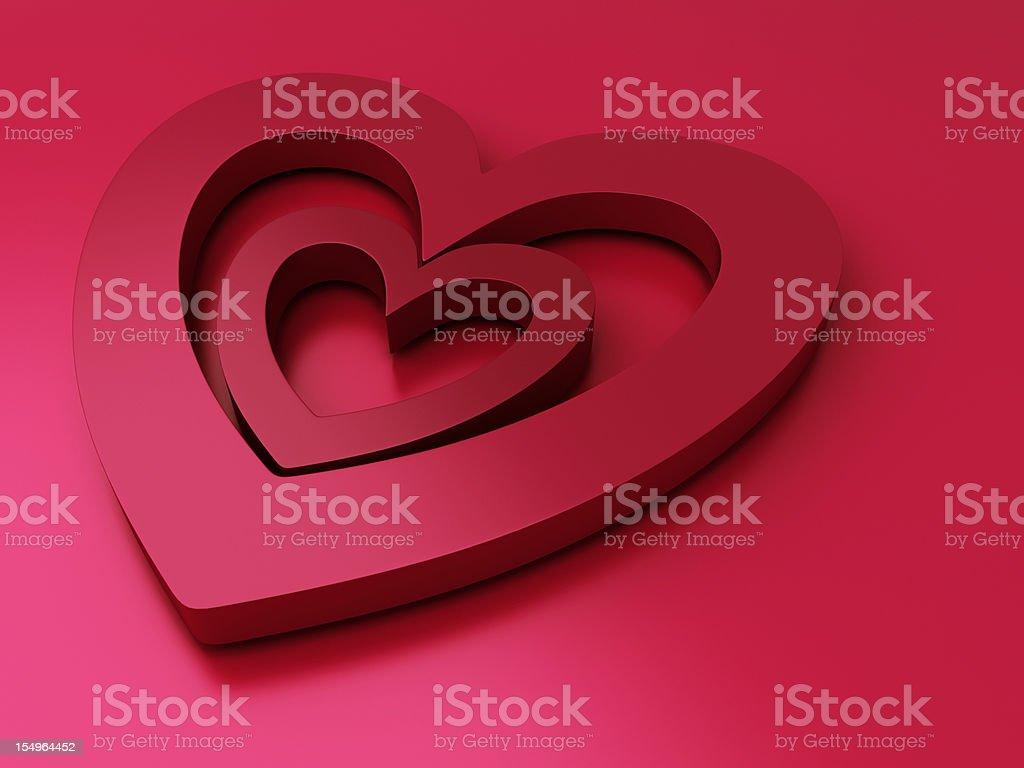 Saint Valentine's background royalty-free stock photo