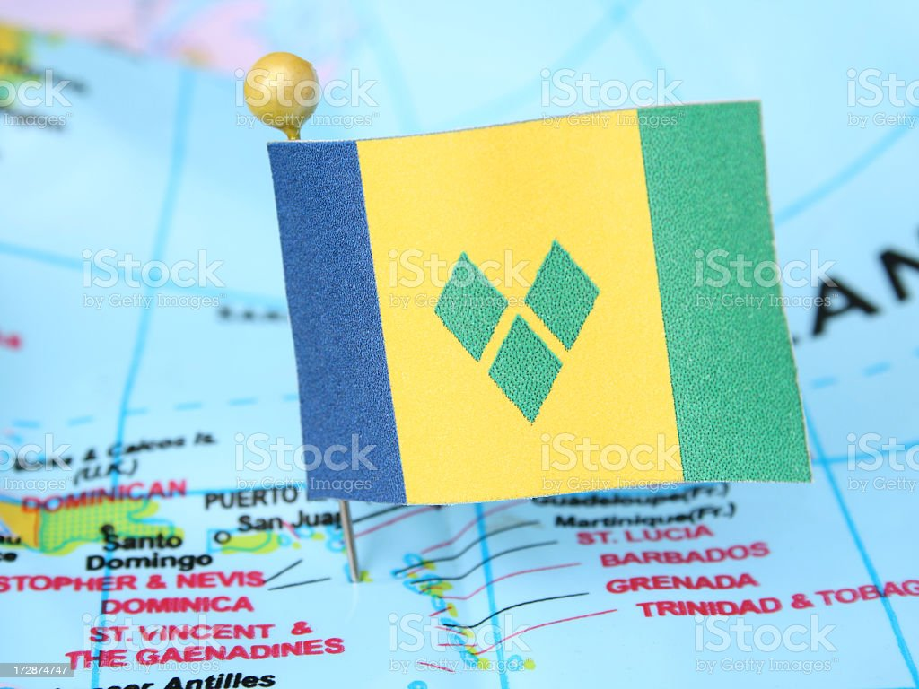 Saint Vincent and the Grenadines stock photo