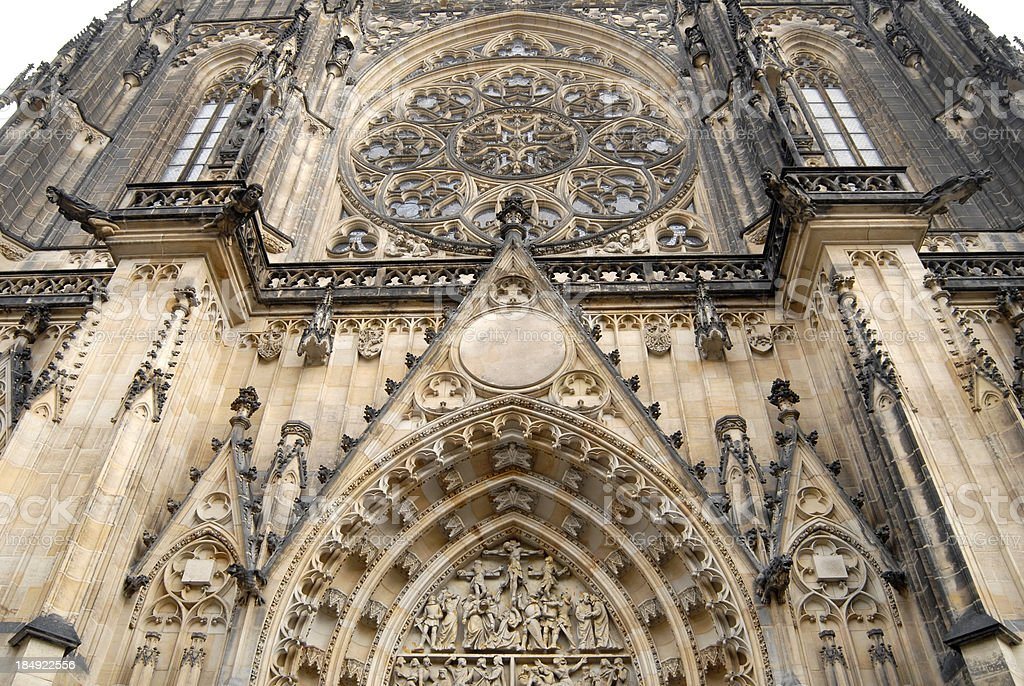 Saint Vitus cathedral royalty-free stock photo