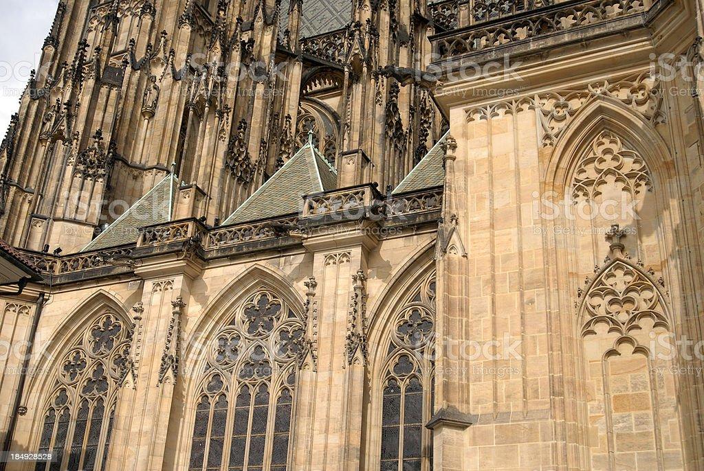 Saint Vitus Cathedral, Prague, Czech Republic royalty-free stock photo