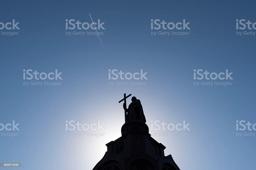 Saint Vladimir Monument - Kiev, Ukraine stock photo