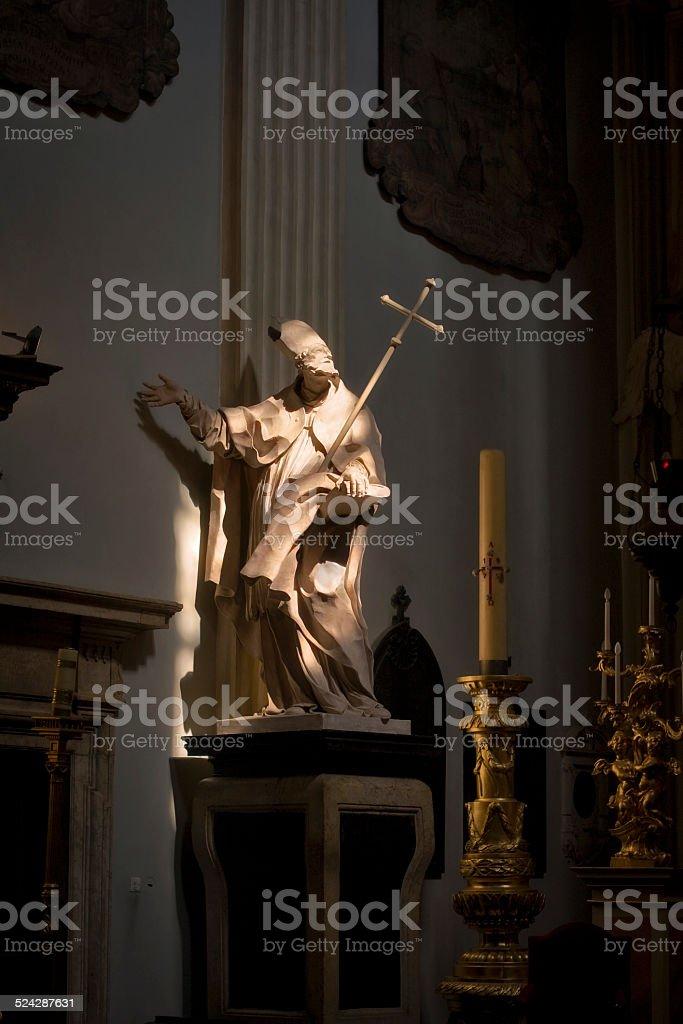 Saint Wojciech stock photo