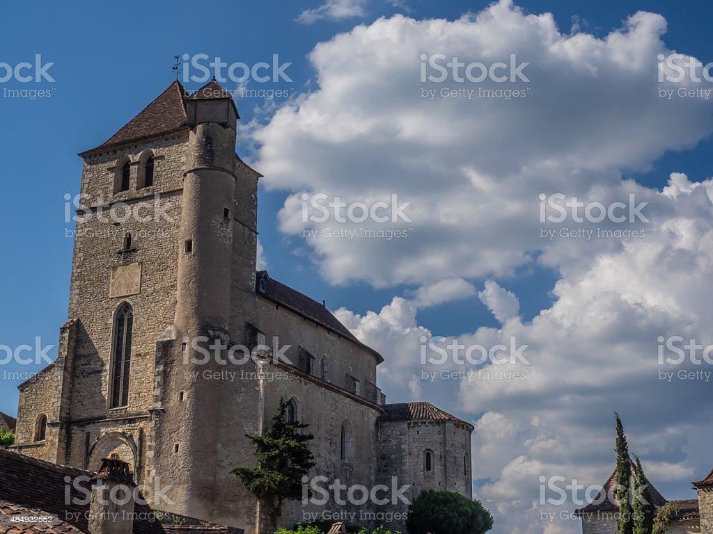 Saint-Cirq-Lapopie stock photo