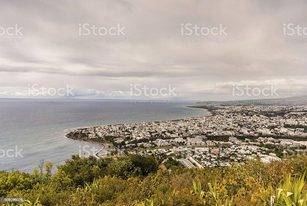 Saint-Denis, Indian Ocean, Reunion Island stock photo