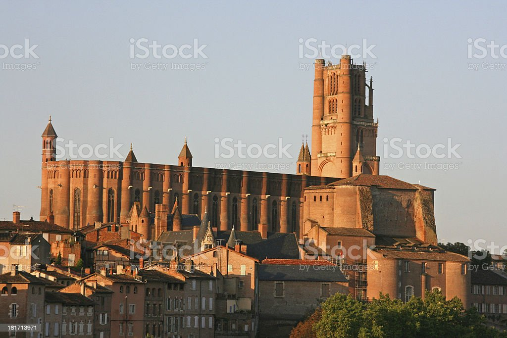 Sainte Cecile Cathedral, Albi, France. royalty-free stock photo