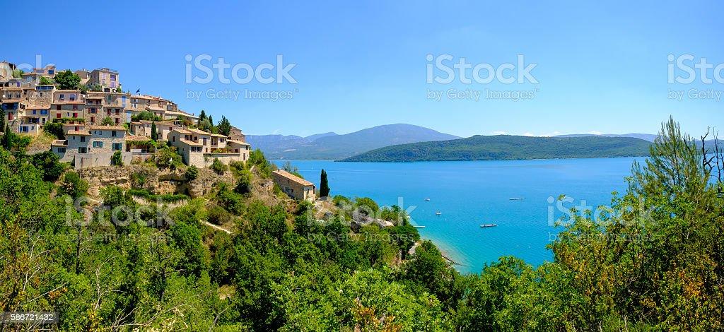 Sainte Croix Du Verdon Provence, Alpes, France stock photo