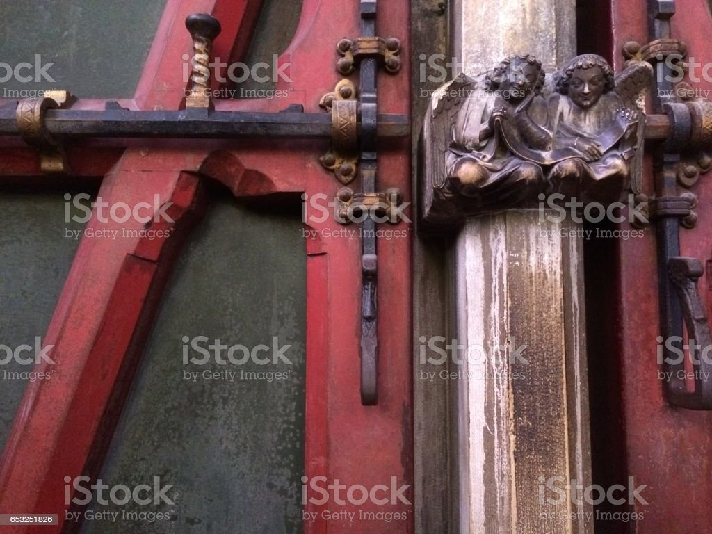 Sainte-Chapelle Door detail stock photo