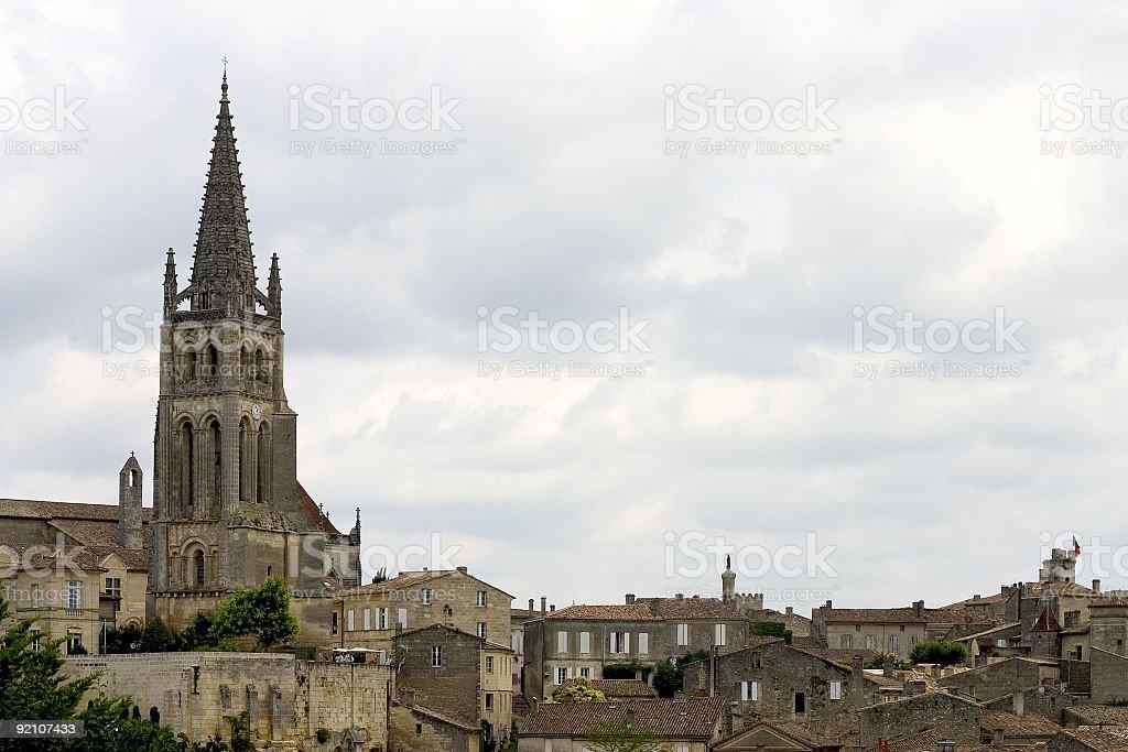 Saint-Emilion, France royalty-free stock photo