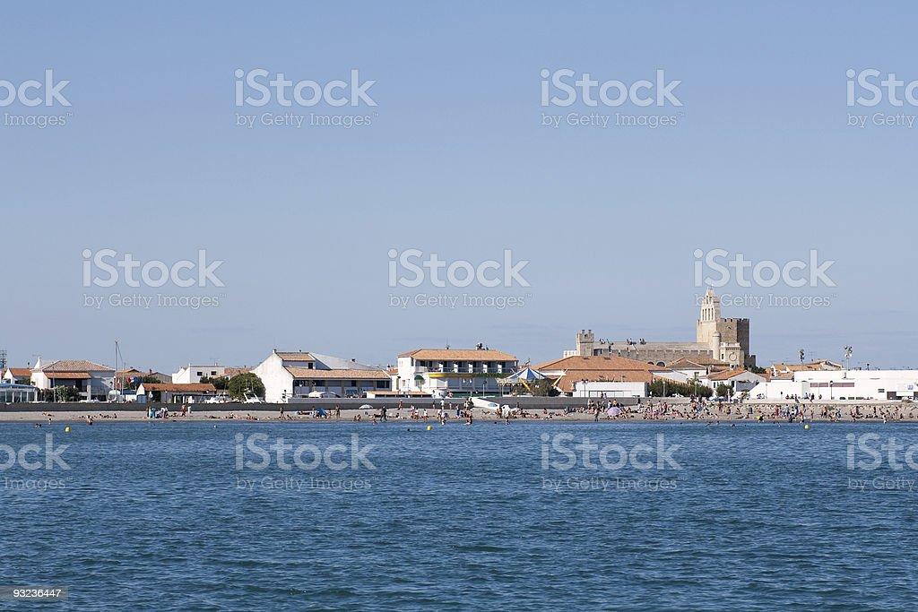 Saintes Maries de la Mer royalty-free stock photo