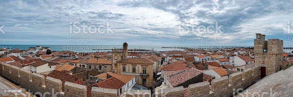 Saintes-Maries-de-la-Mer stock photo