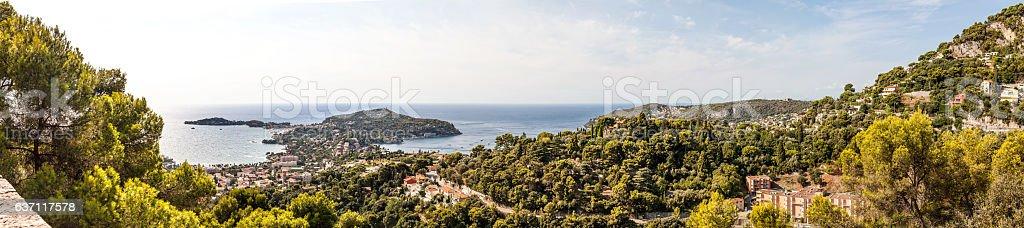 Saint-Jean-Cap-Ferrat on Cote d'Azur, France stock photo