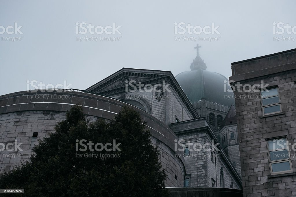 Saint-Joseph's Oratory of Montreal stock photo
