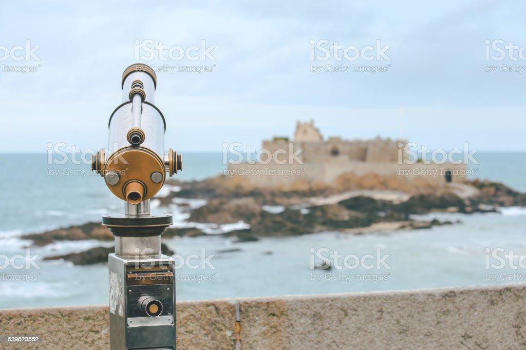 Saint-Malo, France stock photo