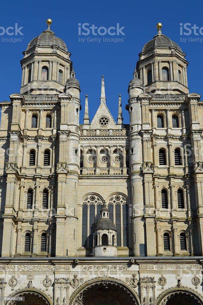 Saint-Michel,  Dijon stock photo