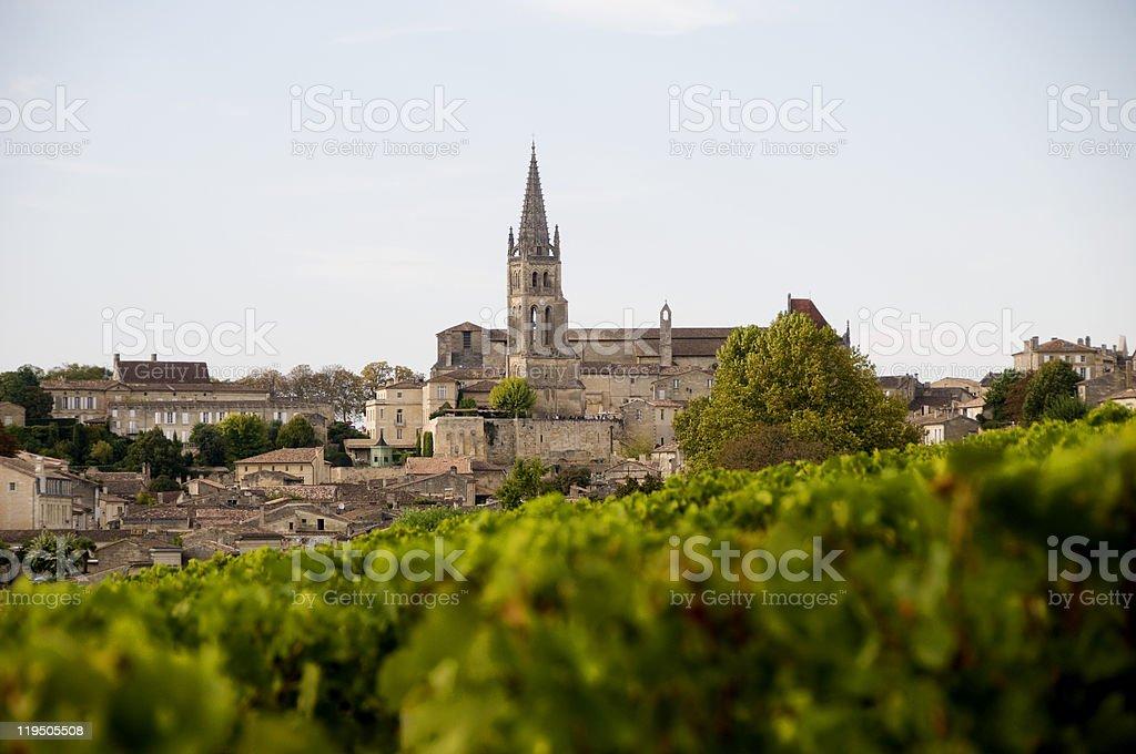 Saint-?milion stock photo