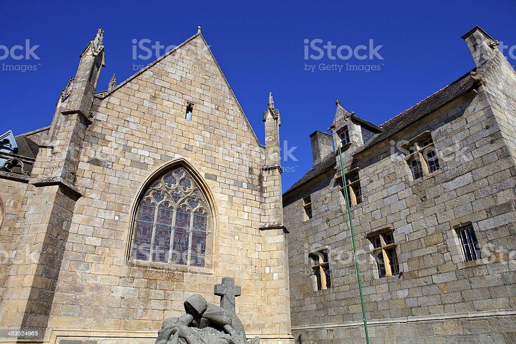 Saint-Pol-de-Leon royalty-free stock photo