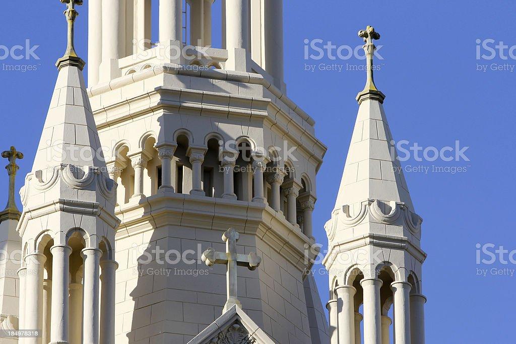 'Saints Peter & Paul Church in San Francisco, California' stock photo