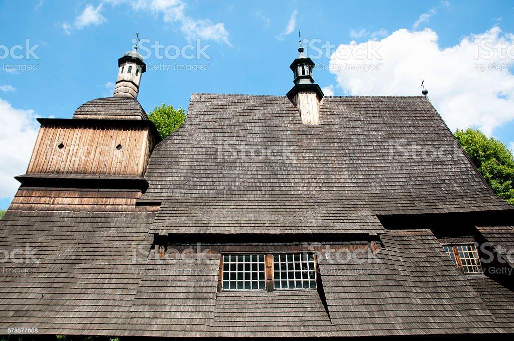 Saints Philip and James Church - Sekowa - Poland stock photo