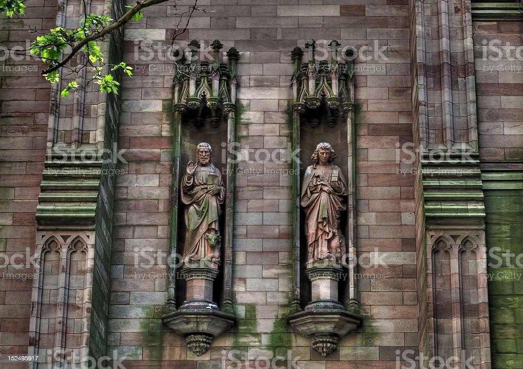 Saints Watching royalty-free stock photo