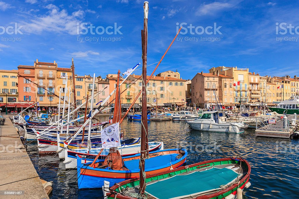 Saint-Tropez, France stock photo