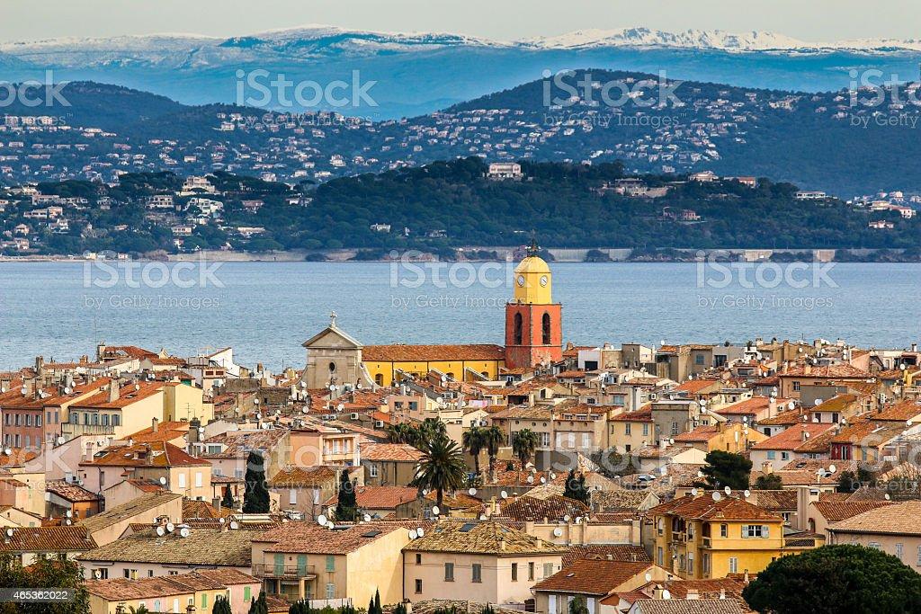 Saint-Tropez stock photo