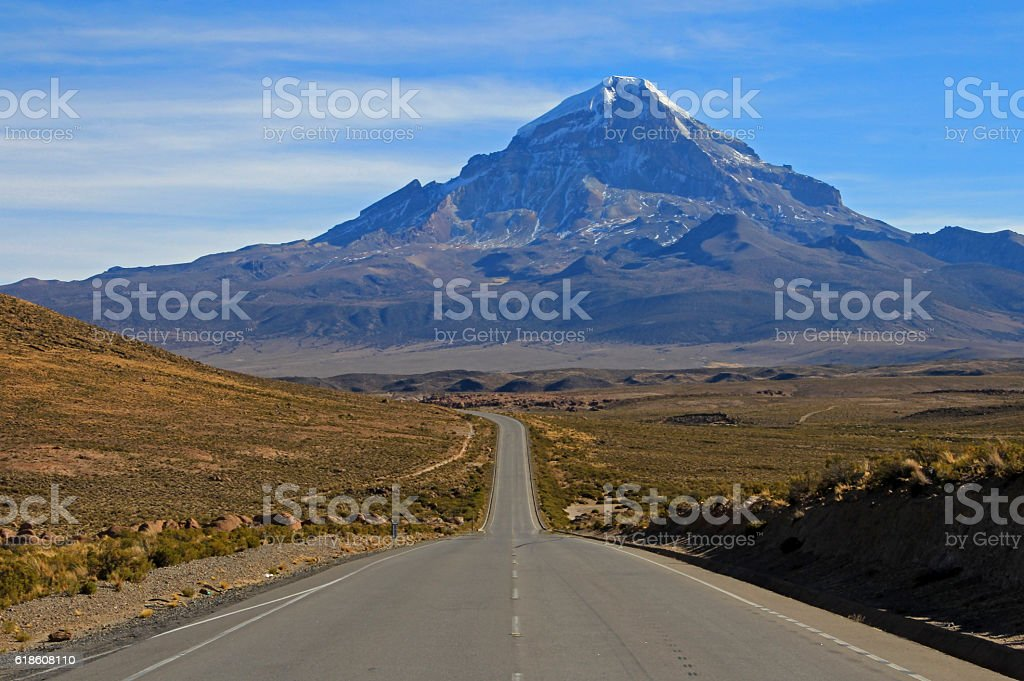 Sajama National Park, Bolivia stock photo