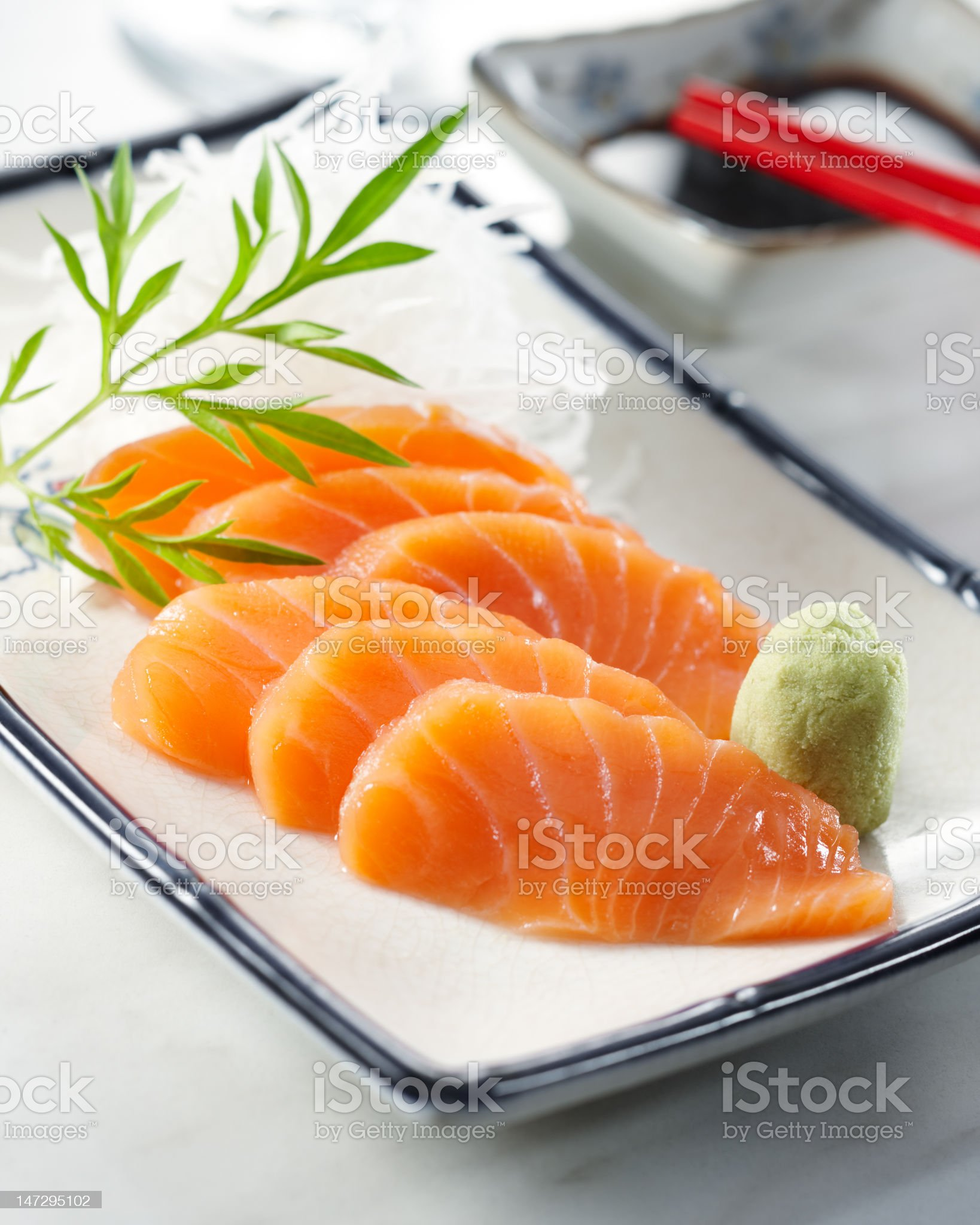 sake sashimi royalty-free stock photo