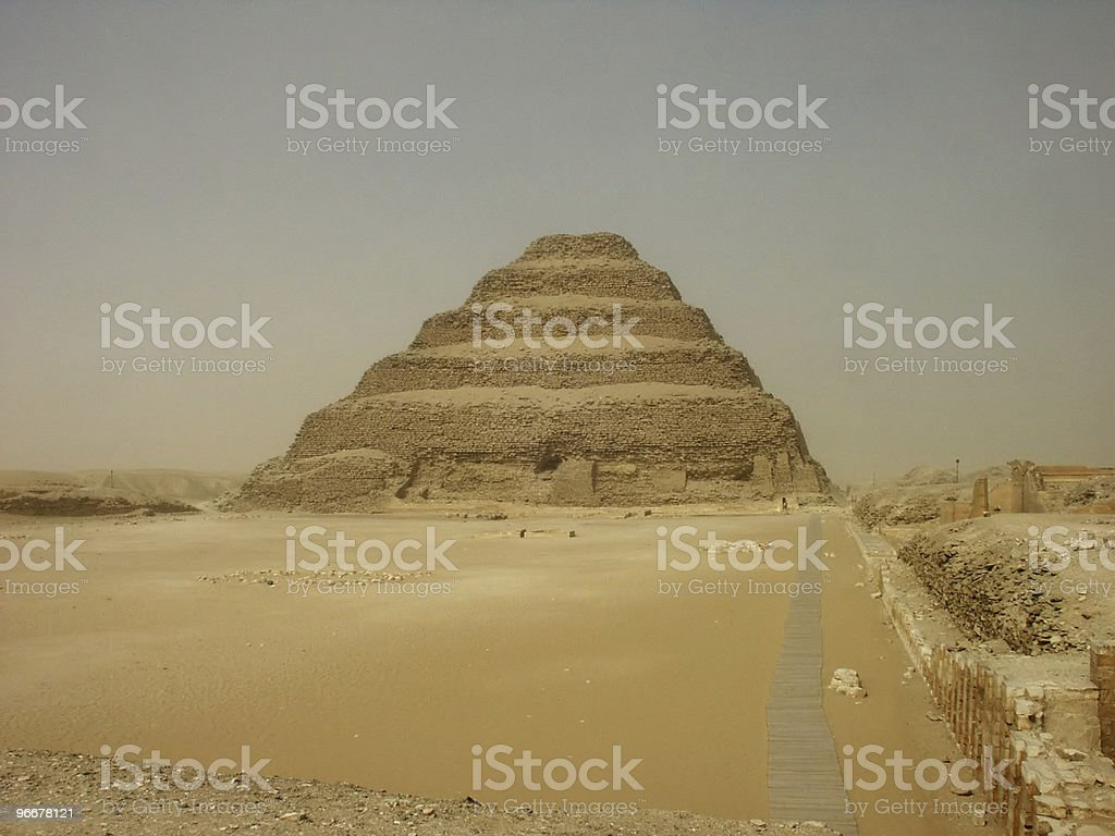 Sakkara royalty-free stock photo