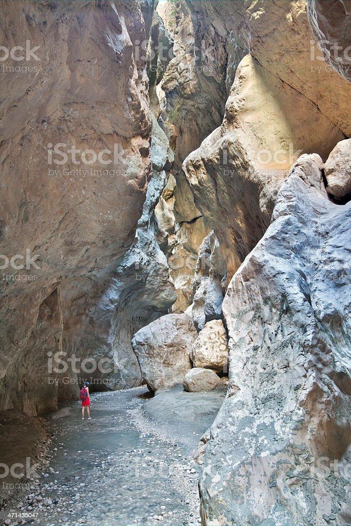 Saklikent Gorge, Turkey stock photo