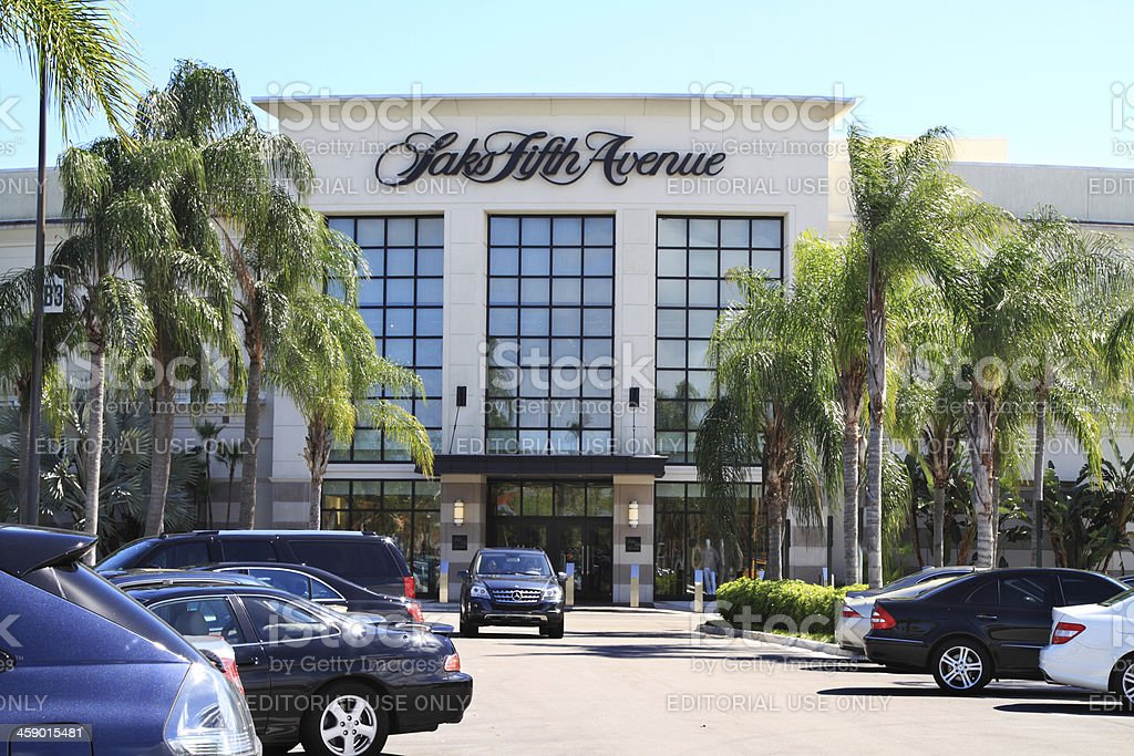 Saks Fifth Avenue retail store stock photo