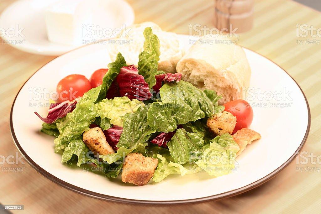 Salad 1 royalty-free stock photo