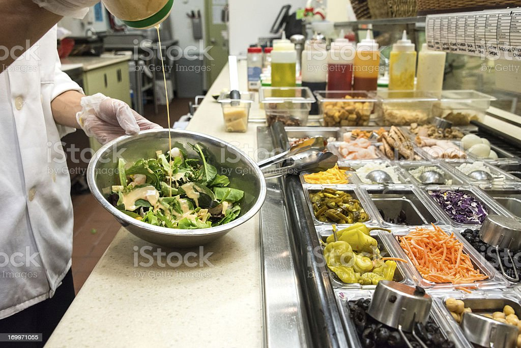 Salad Bar royalty-free stock photo