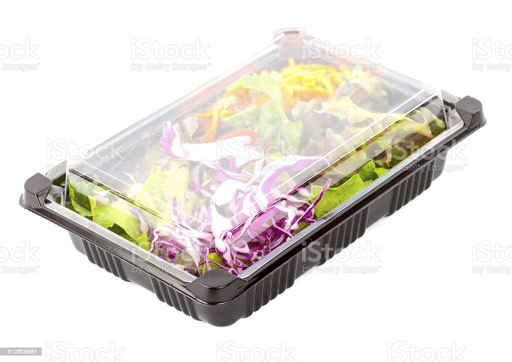 Salad Box stock photo