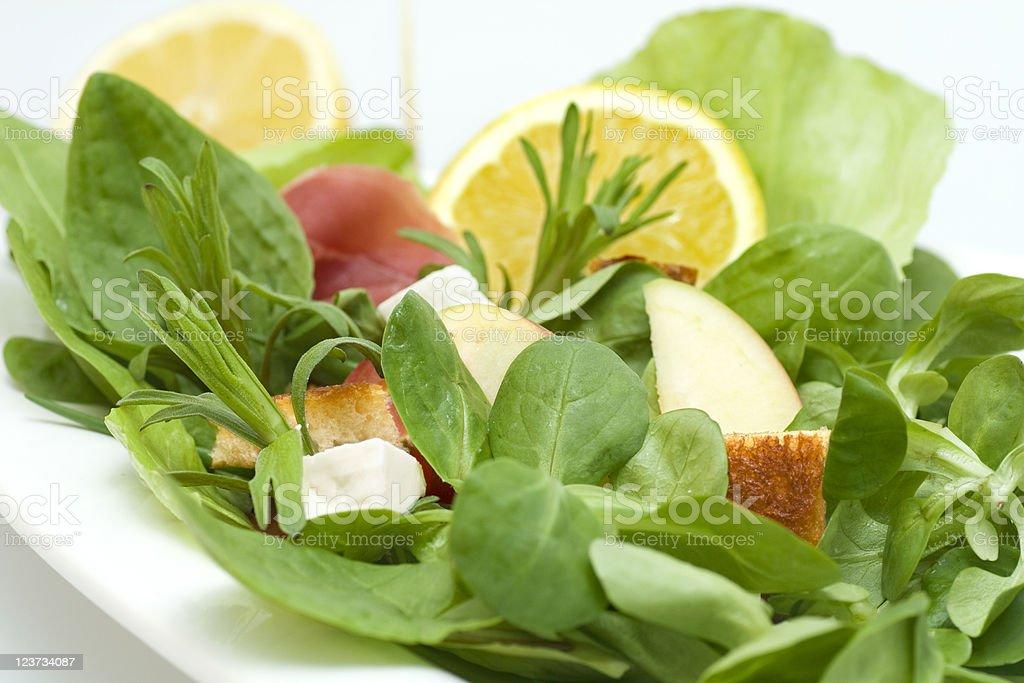 Salad close-up royalty-free stock photo