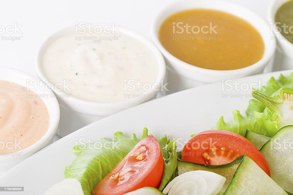 Salad & Dressings stock photo
