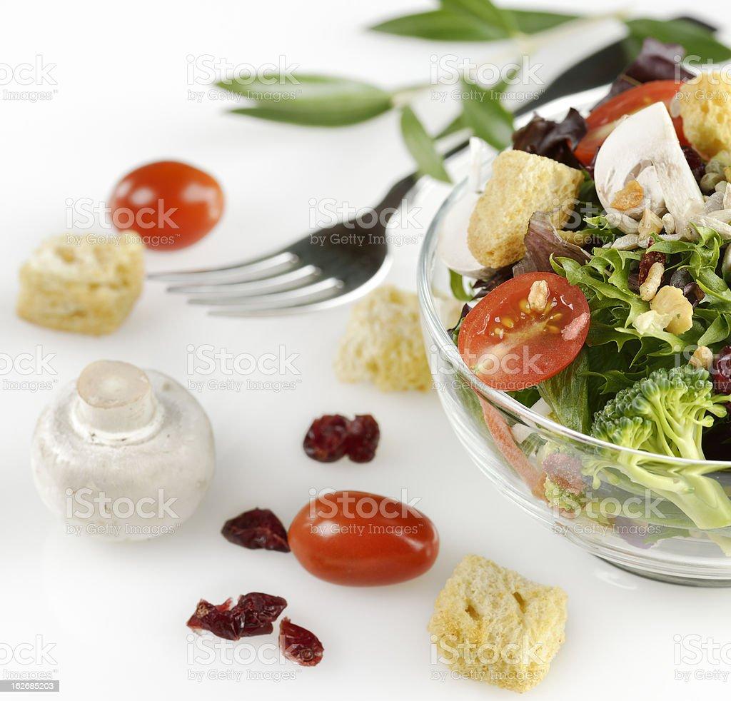 Salad Ingredients royalty-free stock photo