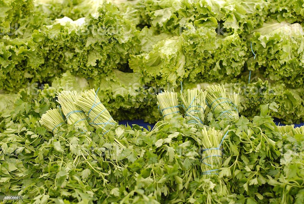 salad materials royalty-free stock photo