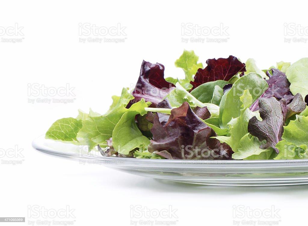 Salad mix stock photo