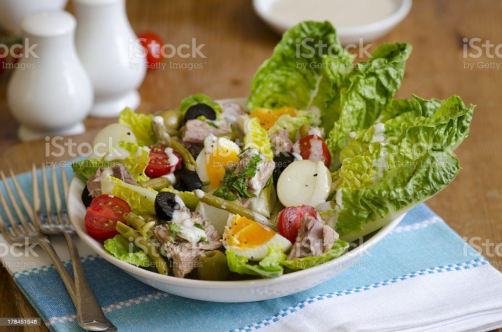 Salad Nicoise stock photo