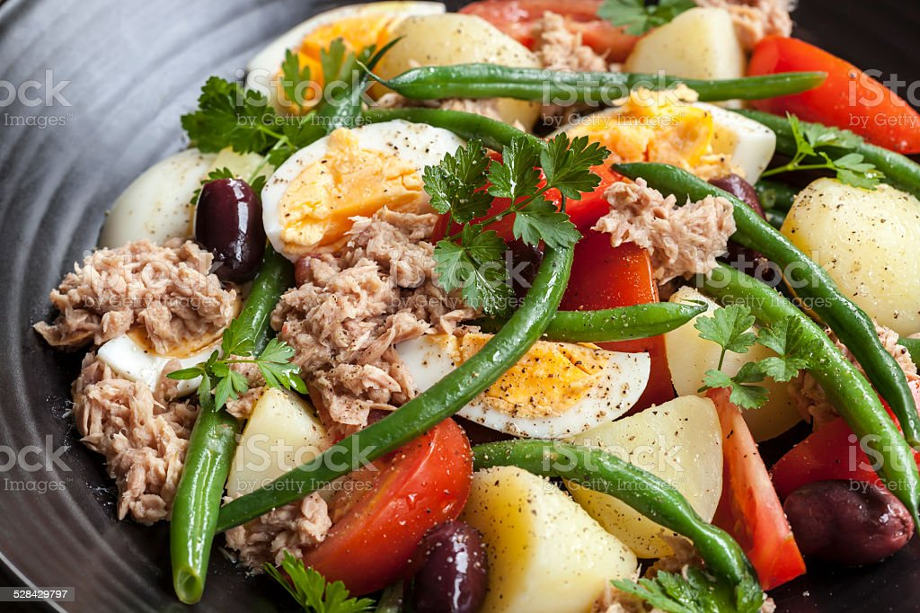 Salad Nicoise stock photo