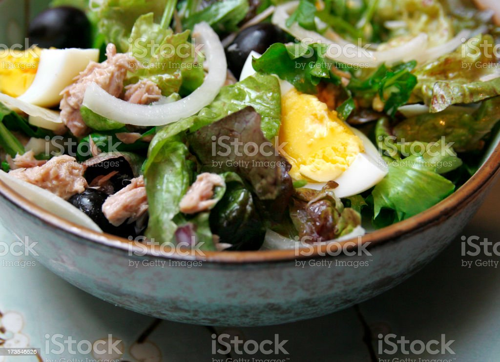 Salade Niçoise #2 royalty-free stock photo